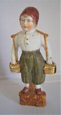 Antique / Vintage!! Handpainted Porcelain Dutch Boy Figurine / Ornament - 2507