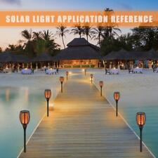 96 LED Garden Landscape Solar FlameTorch Pathway Light Yard Night Lighting Lamps