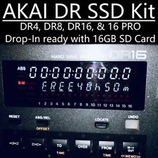 SSD Upgrade Kit for AKAI DR4, DR8, DR16, DR16 Pro Hard Drive Recorder! SD 2020