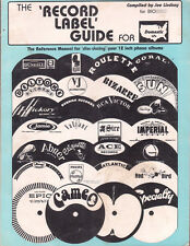 Record Label Guide for Domestic LPs 1st Edition Lindsay 55-83 Rare