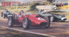 1958b FERRARI D246 e VANWALL VW (57) S, REIMS F1 Copertura firmato Jack fairman