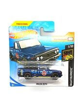 HOT WHEELS 2007 MODELS FORD GTX1 BLUE FACTORY