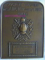 MED5808 - MEDAILLE AMICALE DES ANCIENS DU GENIE LILLE à son FONDATEUR 1934