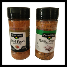 2ct Soul Food Seasoning Spices Clover Valley 4.62oz Jar
