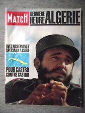 PARIS MATCH n°629 29-04-1961 CASTRO À CUBA⧫CAROLINE DE MONACO⧫AMI 6-3 CV⧫LURÇAT
