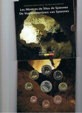 Belgie  BU set 2011  De Vuursteenmijnen 1 ct t/m 2 euro  8 munten  + penning