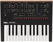 KORG monologue BK Monophonic Analogue Synthesizer Black From Japan