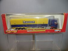 "MAJORETTE  MODEL No.197   ARTICULATED  ""MICHELIN "" TRUCK        VN MIB"
