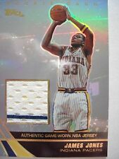 2004 TOPPS BASKETBALL GAME JERSEY JAMES JONES  PACERS  JE-JJ   B54