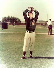 BOB LEMON 8x10 Vintage Photo CLEVELAND INDIANS Cooperstown Baseball Hall of Fame