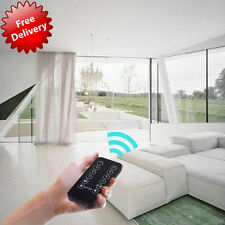 13.5' Remote Control Automatic Electric Motorized Curtain Drapery Rod Track