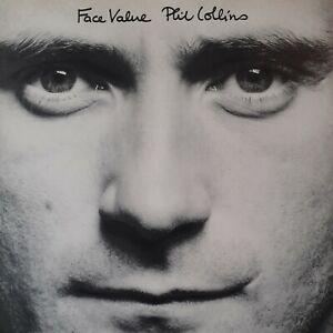Phil Collins vinyl Face Value Ex condition 1981