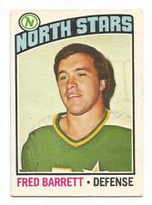 1976-77 O-Pee-Chee #249 Fred Barrett Minnesota North Stars