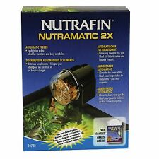 Nutrafin Nutramatic 2X Automatic Fish Aquarium Tank Feeder 10780 New Ships Daily