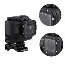 Black Protective Housing Case Side Opening With Screw For Gopro Hero 4 3+ 3 WD