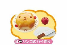 Re-ment Miniature Kapibara San Happy Cooking Apple pie No.8