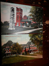 STATE COLLEGE PA - 2 POSTCARDS - 1914 PENN STATE - CENTRE COUNTY