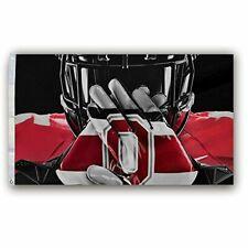 NCAA Ohio State Buckeyes Gloves Helmet Flag 3X5 Foot banner US Shipper