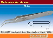 VETUS Original Genuine High Quality Stainless Steel Switzerland Tweezers 5B-SA