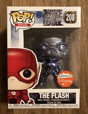 Funko POP! Blue Chrome Flash #208 NYCC 2018 Fugitive Toys Exclusive In Hand