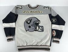 Vintage Los Angeles Raiders #32 Champion Sweatshirt Oakland Vegas Helmet Size M