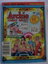 RARE ARCHIE COMICS DIGEST MAGAZINE # 50