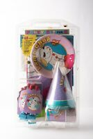 Lamp Chop Vintage 65 Piece Birthday Party Set Napkins Plates Cups Hats Bags New