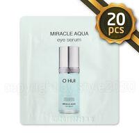 [O HUI] Miracle Aqua Eye Serum 1ml x 20pcs (20ml) Anti Wrinkle OHUI