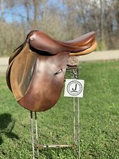 "16.5"" Courbette Husar Fels Bach AG English Jumping Saddle- Front/Rear Blocks"