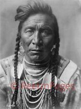 New Art Print 1908 Edward Curtis Photo Strike On Head, Crow Indian MT 11X17