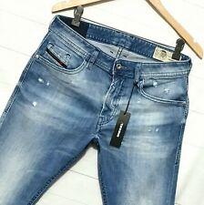 ⭐ mens Diesel Thommer Slim-skinny stretch blue denim jeans 081AS wash W31 L32