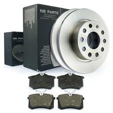 Bremsscheiben Bremsbeläge hinten 253mm Skoda Octavia 1Z3 1Z5 Yeti für PR-Nr 1KD