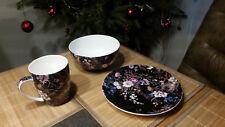 Weihnachten Maxwell Williams Frühstücks-Geschenkset Bone China Porzellan
