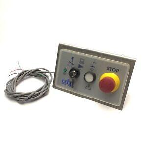 Adept 30356-10358 Rev C PCI Front Control Panel E-Stop Auto/Man On