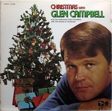GLEN CAMPBELL CHRISTMAS WITH GLEN CAMPBELL 1968 LP CAPITOL SL-6699 STEREO