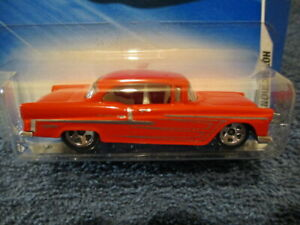 HOT WHEELS 2010 HOT AUCTION, '55 CHEVY BEL AIR. #4/10