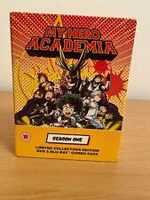 My Hero Academia Season 1 -Rare  Limited / Collectors Edition Blu-ray/DVD Combo!