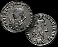 LICINIUS l. Roman Eastern Emperor 315-326 AD Bronze FOLLIS Coin +COA / RARE (R1)