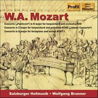 Wolfgang Amadeus Mozart - Mozart - Keyboard Concertos K40, K246 and K107/1 [CD]