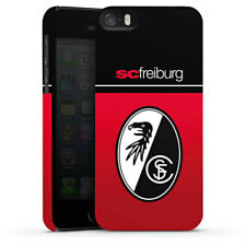 Apple iPhone SE Premium Case Cover - SC Freiburg - Schwarz Rot