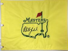 PHIL MICKELSON SIGNED AUTOGRAPH UNDATED MASTERS FLAG GOLF COA **RARE**