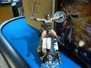 Huge CS MOORE Studios CONAN The CONQUEROR Statue #528/1500 NOS in Original Box