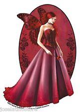 """Rachel Anderson's """"Queen of Hearts"""" 5x3.5 inch Vinyl Sticker Decal"""