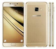 """New Imported Samsung Galaxy C7 Duos Dual 32GB 4GB 5.7"""" 16MP 8MP Gold"""