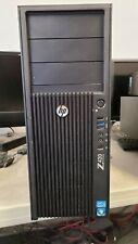 HP Z420 Tower Workstation E5-1620 64GB ECC RAM 500GB HD Windows 10 Pro FX 4800 c