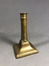 Early 19th Century British Brass Candle Stick