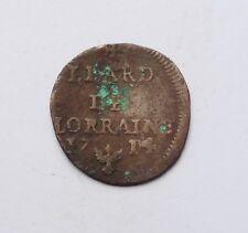DUCHE DE LORRAINE liard 1714 LEOPOLD