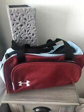 Under Armour Sport Duffle Bag Small. Maroon And Light Blue. Brand New!!!!