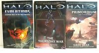 Halo Book Series: Evolutions, The Thursday War, Primordium  EB2