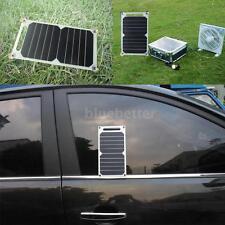 2X Solar Charger 10W Ultra Thin Silicon Solar Outdoor Climbing F0E3